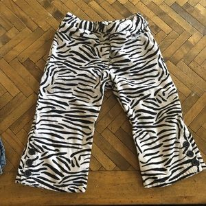 Gymboree Gymbo zebra brushed corduroy